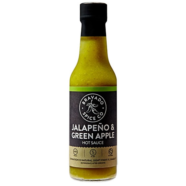 Bravado Spice Co Jalapeno & Green Apple Hot Sauce