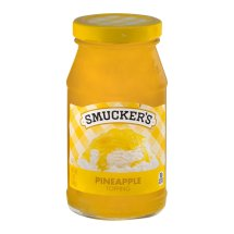 Smucker's Topping, Pineapple Flavored 12 oz