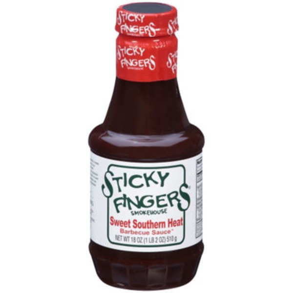 Sticky Fingers Bakeries Sweet Southern Heat Barbecue Sauce