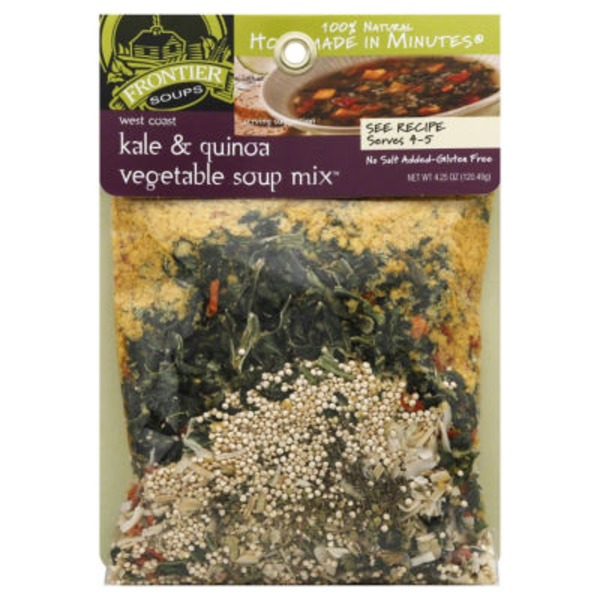 Frontier Soups Vegetable, Kale & Quinoa Soup Mix