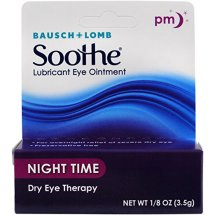 Bausch & Lomb Soothe Lubricant Eye Ointment, Night Time,1/8 Oz