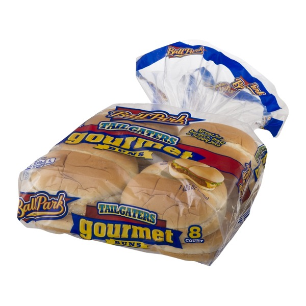 Ball Park Tailgaters Gourmet Buns - 8 CT