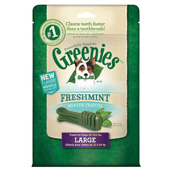 Greenies Freshmint Large Dog Treats