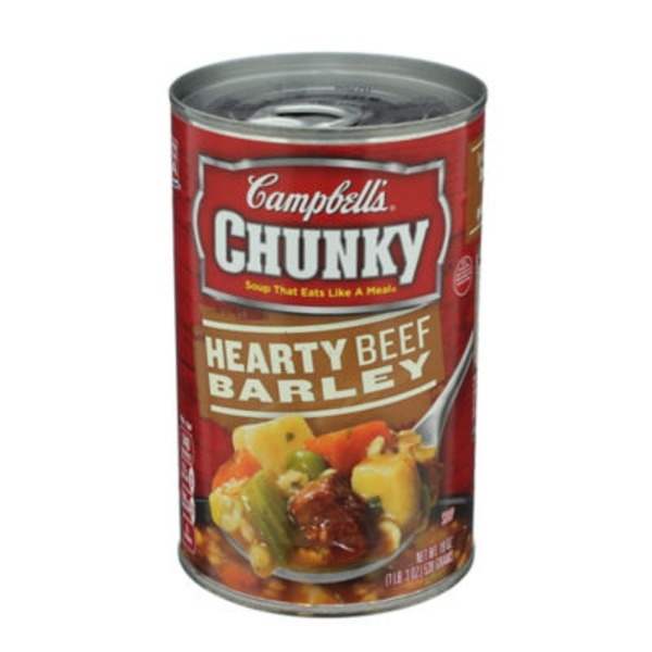 Campbell's Hearty Beef Barley Soup