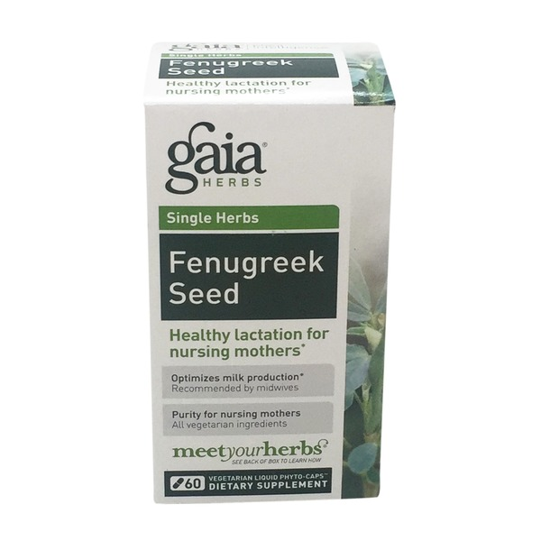 Gaia Herbs Fenugreek Seed Liquid Filled Capsules