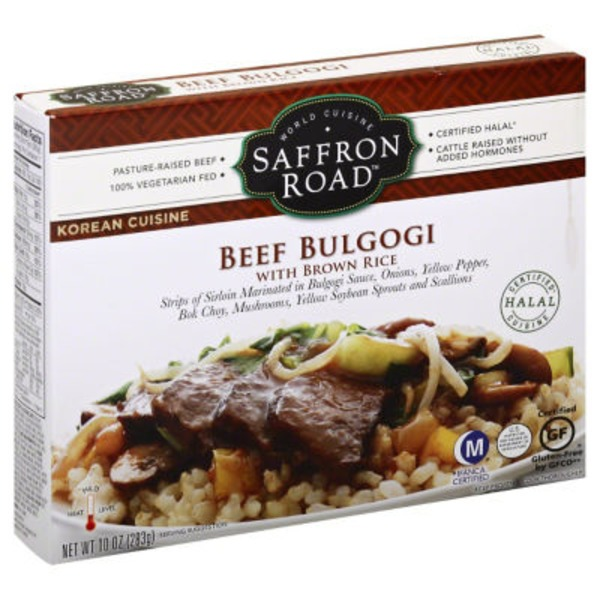 Saffron Road Beef Bulgogi With Brown Rice