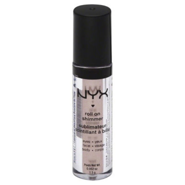 NYX Roll On Shimmer, Salmon RES14