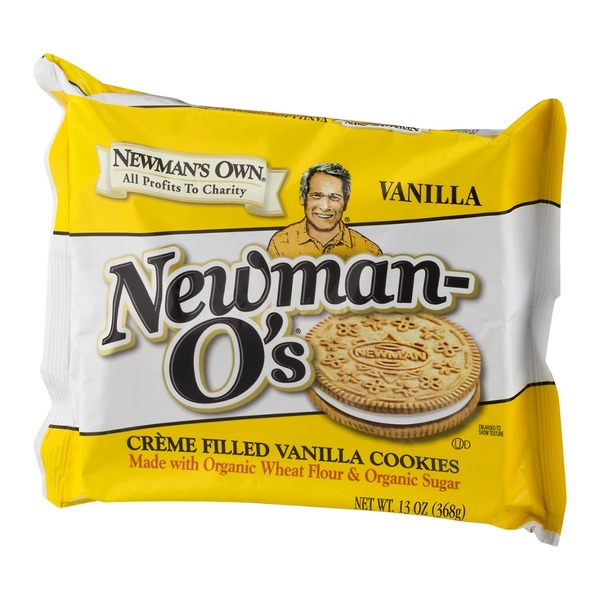 Newman's Own Newman-O's Vanilla Creme Filled Vanilla Cookies