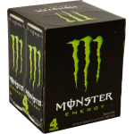 Monster Energy Drink, Original, 16 Fl Oz, 4 Count