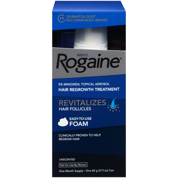 Men's Rogaine® 1 Month Supply Hair Regrowth Treatment Foam