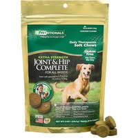 Vetritionals Chicken Flavor Soft Chews Gluten Free No Corn No Soy Extra Strength Joint & Hip Complete for all Breeds