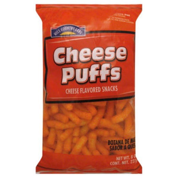 Hill Country Fare Cheese Puffs Flavored Snacks