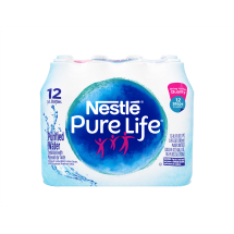 Nestle Pure Life Purified Water, 16.9 Fl Oz, 12 Count
