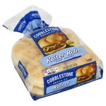 Cobblestone Kaiser Sliced Rolls, Corn Dusted, 8 ct, 15 oz