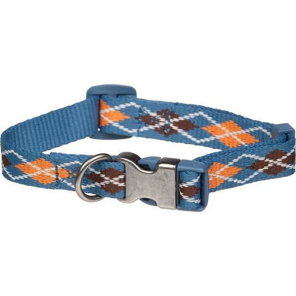 Planet Petco Medium Argyle Eco Dog Collar