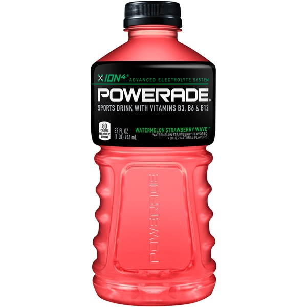 Powerade Watermelon Strawberry Wave Sports Drink