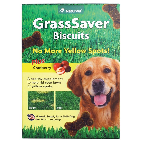 NaturVet GrassSave Biscuits Plus Cranberry for Dogs