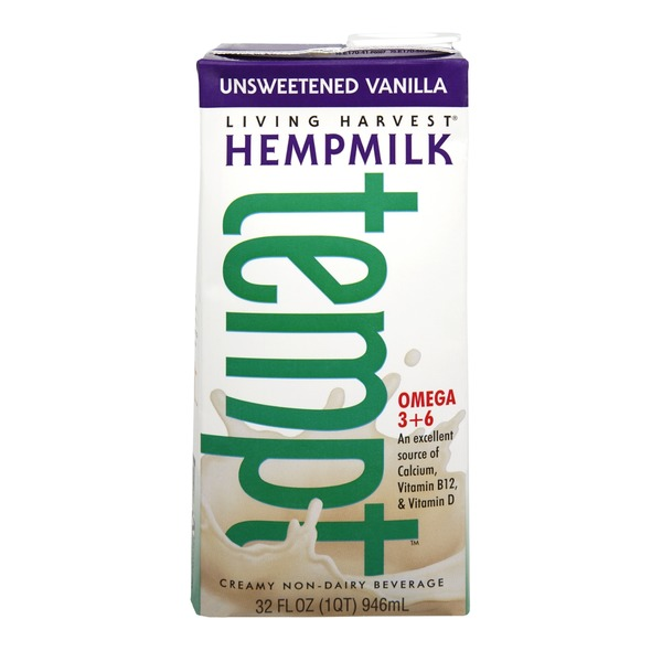 Tempt Living Harvest Tempt Unsweetened Vanilla Hempmilk