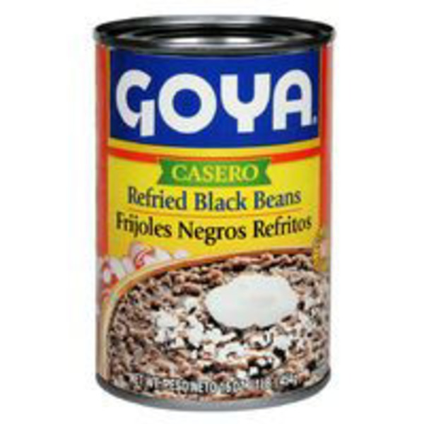 Goya Fat Free Refried Black Beans