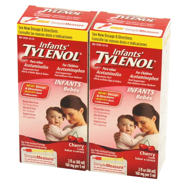 Tylenol Infants Cherry Pain Reliever
