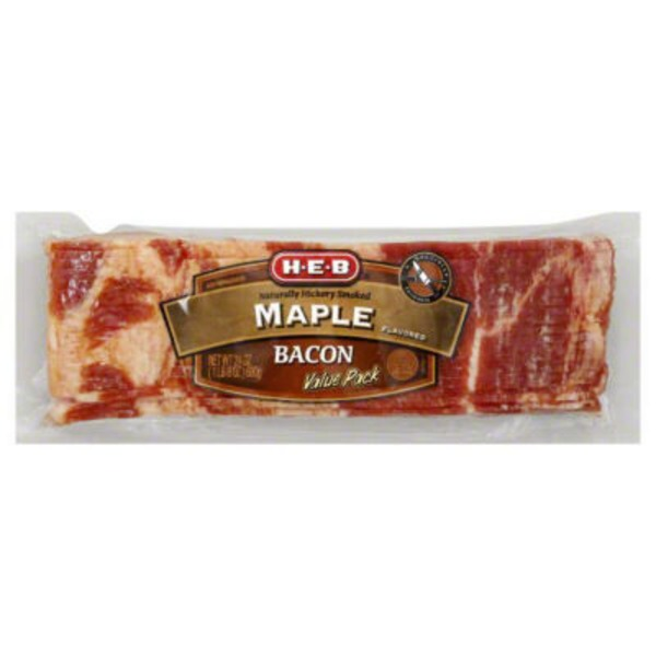 H-E-B Maple Flavored Bacon