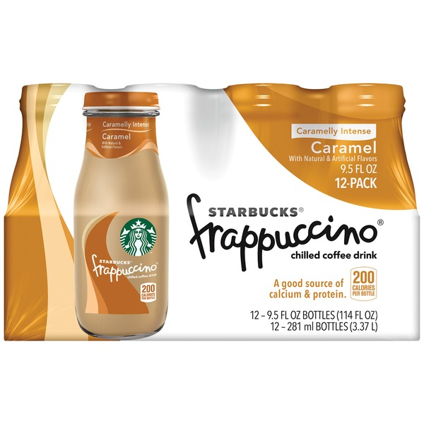 Starbucks Frappuccino Caramel Coffee Drink