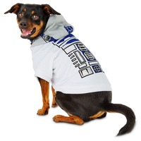 Star Wars R2 D2 Dog Hoodie Medium