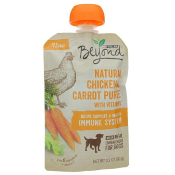 Beyond Dog Wet Natural Chicken & Carrot Puree Meal Enhancement