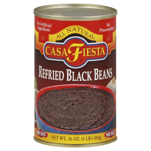 Casa Fiesta Black Beans, Refried