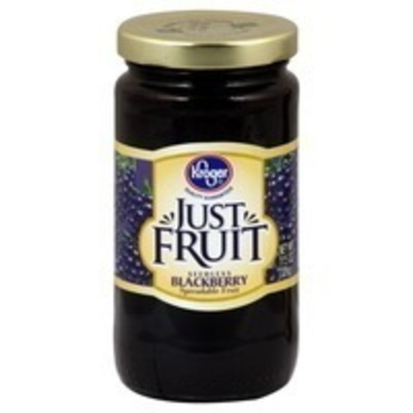 Kroger Blackberry Just Fruit Spread