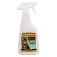 NaturVet Herbal Flea Spray For Cats With Essential Oils