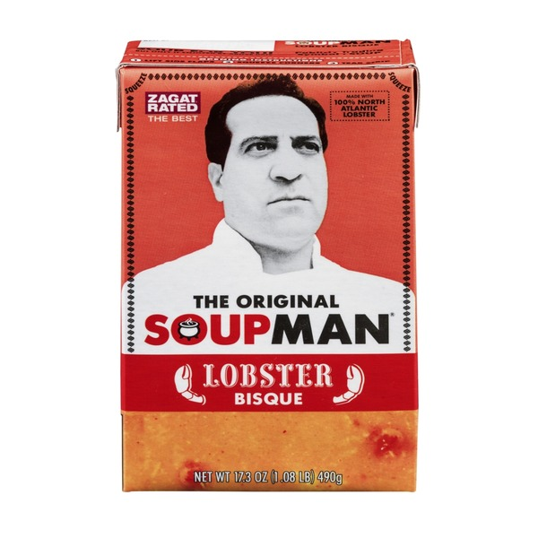 The Original Soupman Lobster Bisque