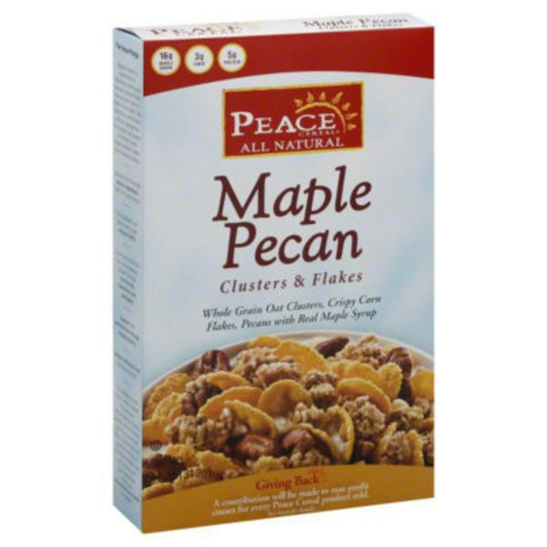 Peace Cereal All Natural Maple Pecan Clusters & Flakes