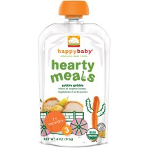 Happy Family Happy Baby Hearty Meals Stage 3 Organic Gobble Gobble, 4-oz Pouch
