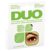 Duo Striplash Brush On Adhesive, Clear, 0.18 oz