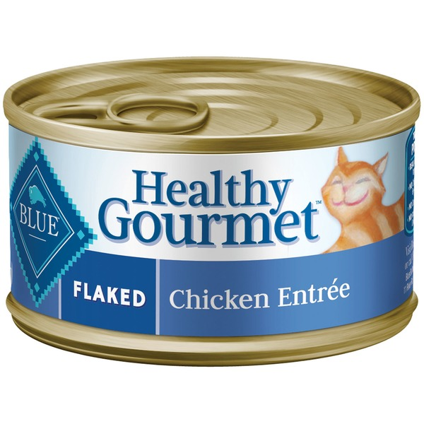 Blue Buffalo Healthy Gourmet Flaked Chicken Entree In Gravy Cat Food