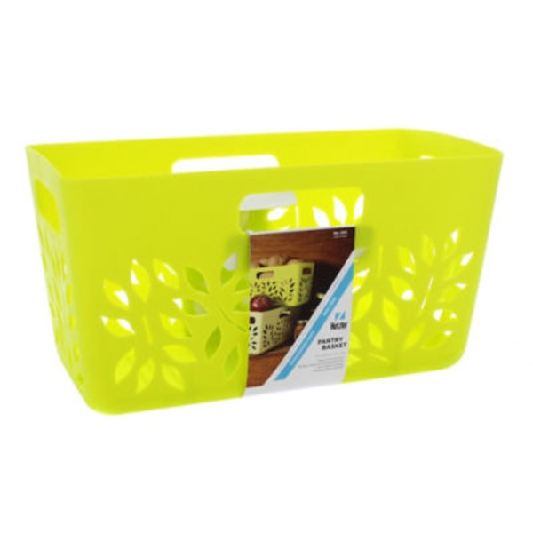 Hutzler Pantry Basket, Assorted Colors