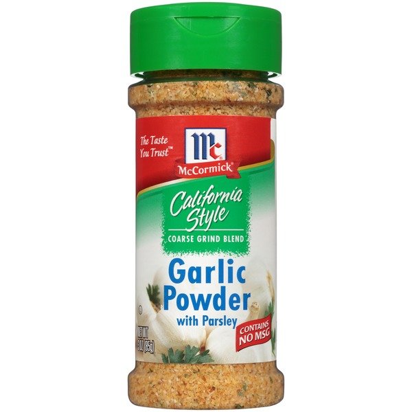Mccormick California Style Coarse Grind Blend With Parsley  Garlic Powder