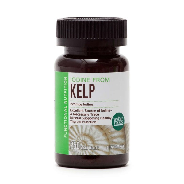 Whole Foods Market Kelp Tablets 225 mcg Iodine