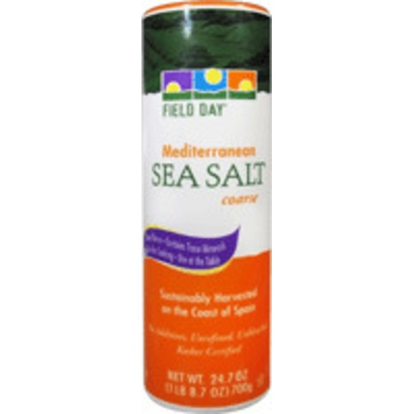 Field Day Coarse Mediterranean Sea Salt