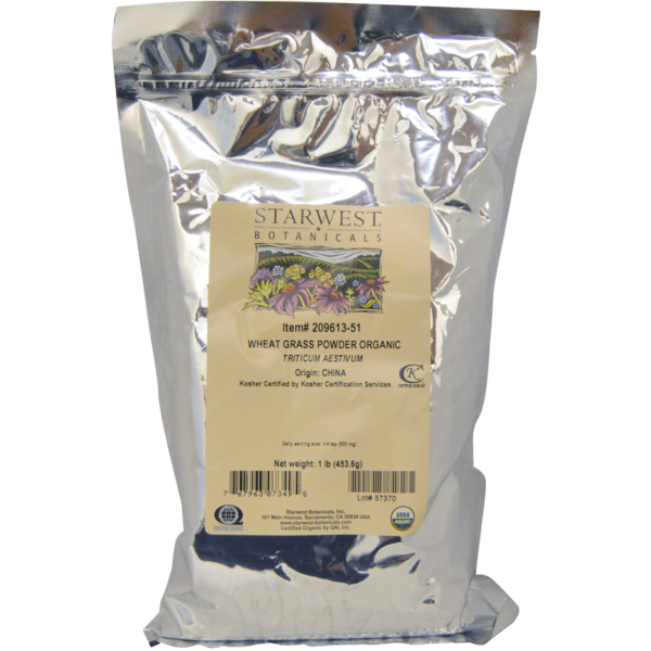 Starwest Organic Wheatgrass Powder