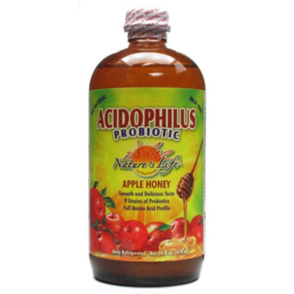 Nature's Life Apple Honey Acidophilus