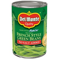 Del Monte Blue Lake French Style No Salt Added Green Beans