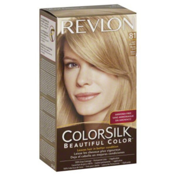 Revlon Colorsilk Light Blonde 81 Permanent Color