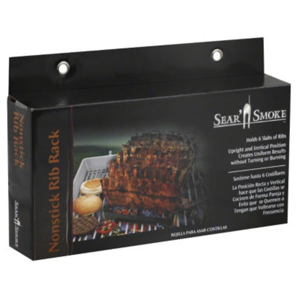 Sear 'n Smoke Nonstick Rib Rack