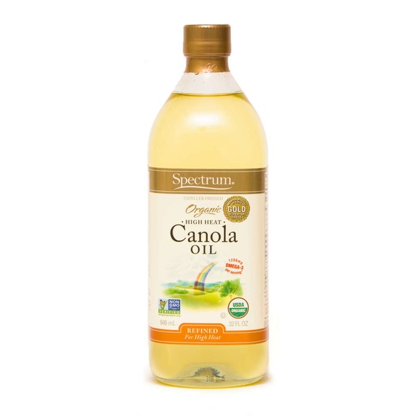 Spectrum Organic HIgh Heat Canola Oil