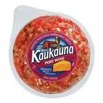 Kaukauna Port Wine Spreadable Cheese With Almonds