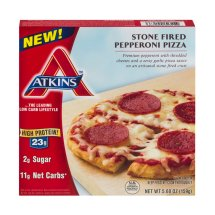 Atkins Stone Fired Pepperoni Pizza, 5.6 OZ