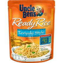 UNCLE BEN'S Ready Rice Pouch Teriyaki Style Rice, 8.8 oz.