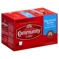Community Coffee Breakfast Blend Medium Roast Single Serve Cups